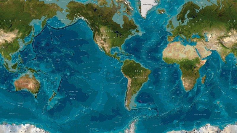 Мы до сих пор не знаем сколько океанов есть на нашей планете интересное, мировой океан, океан, факты