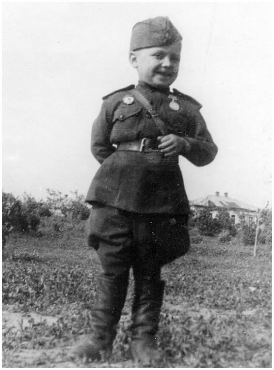 Наша память. Гвардии рядовой Серёженька - самый молодой солдат Великой Отечественной войны