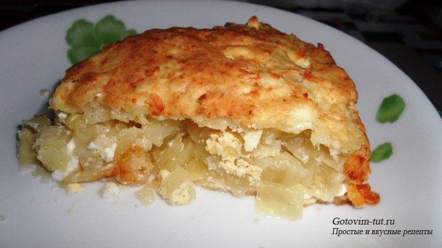 Пирог с капустой. Интересный рецепт творожного теста