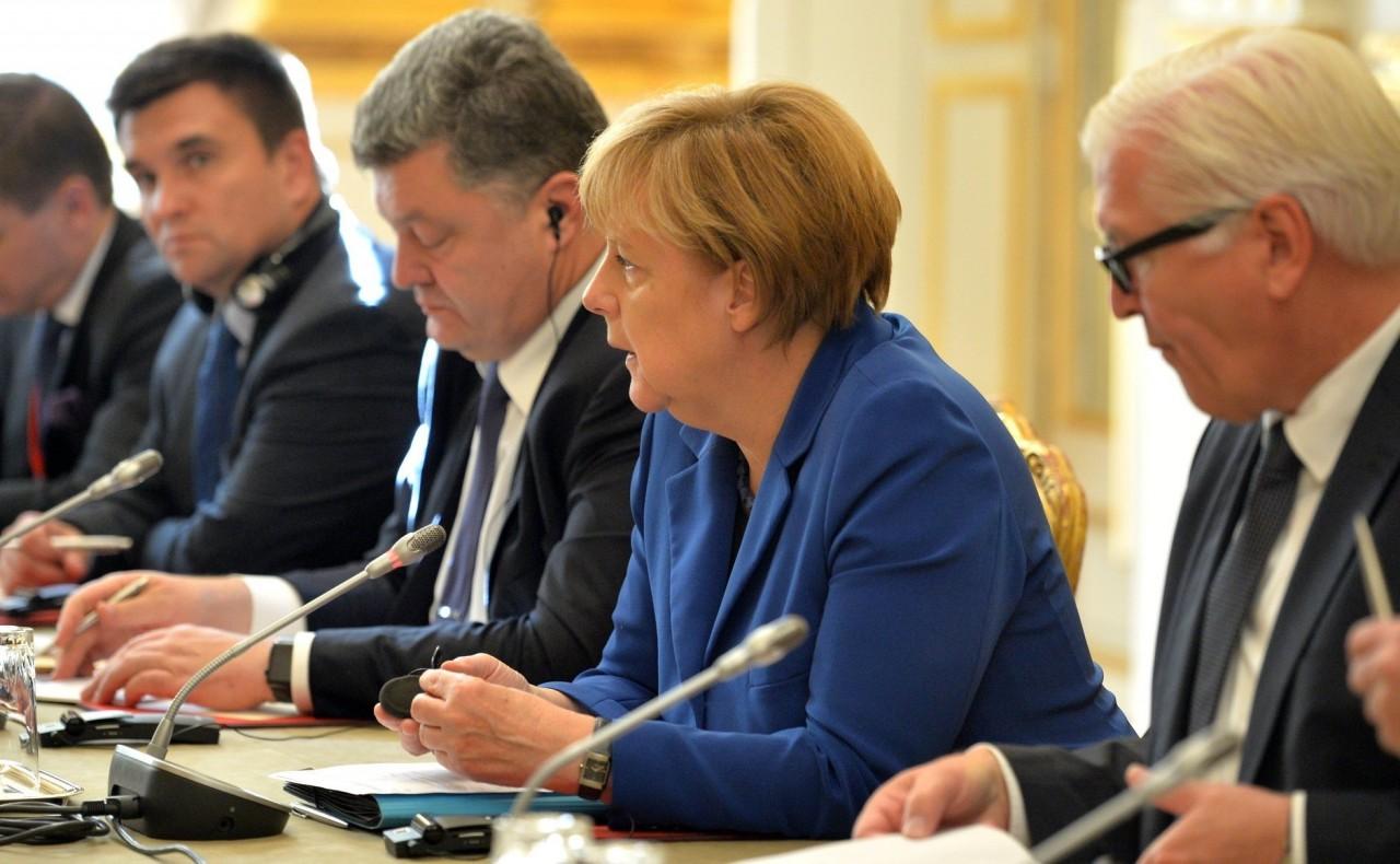 Стало известно, что еще обсудили Порошенко и Меркель кроме ситуации в Донбассе