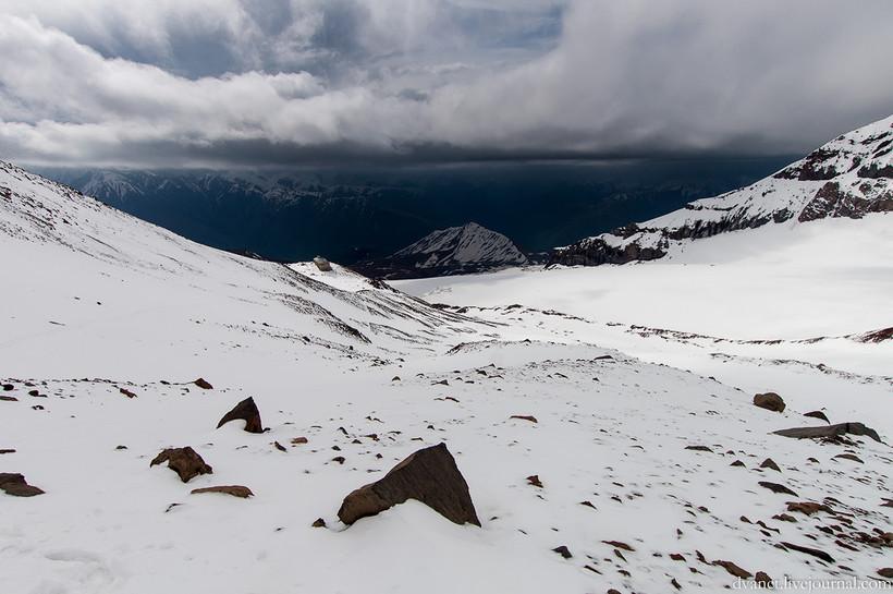 Грузинские горы. Казбек по классике
