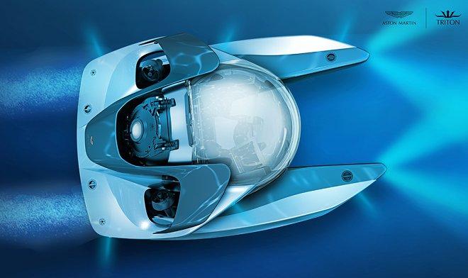 Aston Martin разрабатывает трехместную подводную гиперлодку класса «люкс»
