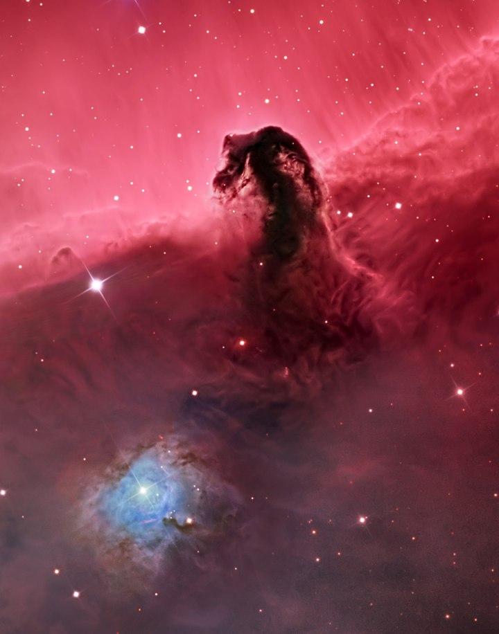 «Туманность Конская Голова (IC 434)», Сил Шнайдер Астрономическая фотография 2014 года