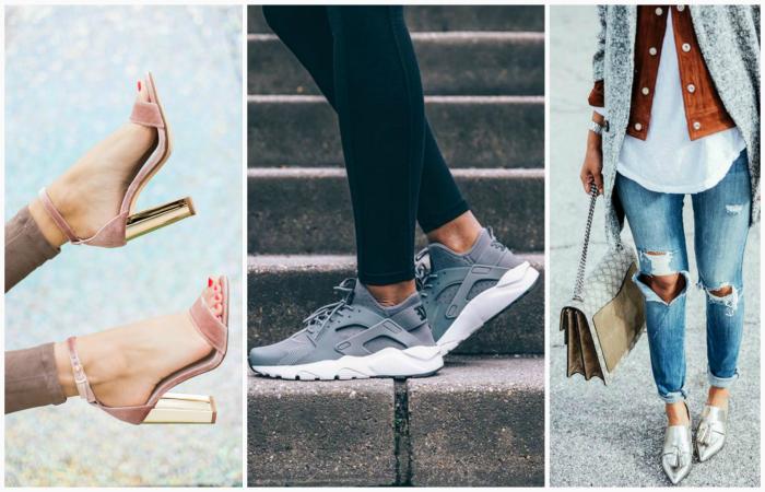 Модная обувь сезона весна-лето 2017.
