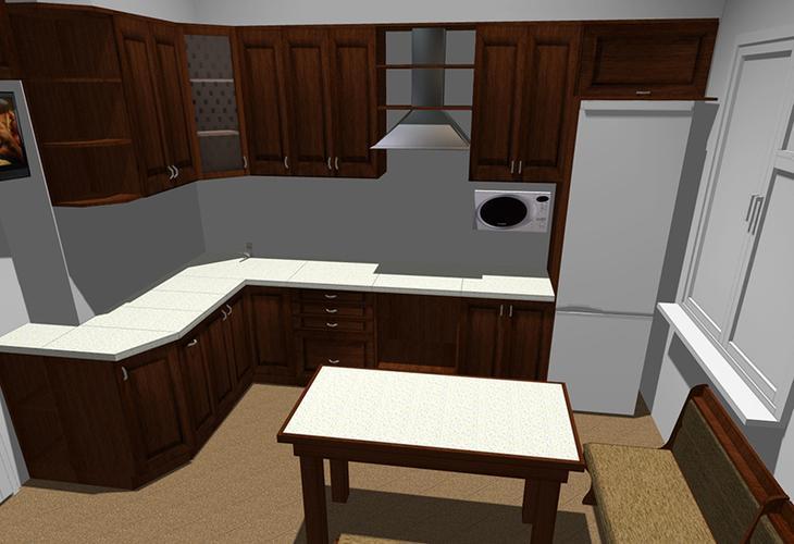 Кухня-массив: уютно и функционально