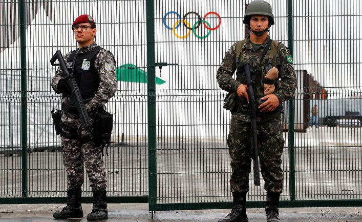 За десять дней до Олимпиады …