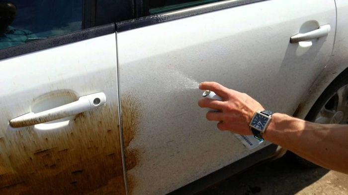 Как удалить битумные пятна с кузова автомобиля