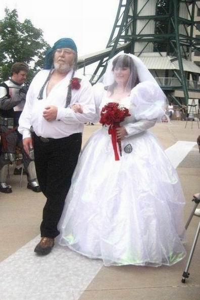Оригинальные свадьбы (33 фото)