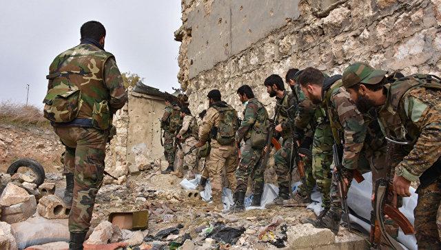 Сирийская армия приостановила активные боевые действия в Алеппо