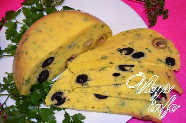 Вкусный твердый сыр в домашних условиях