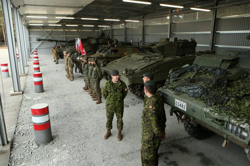 Свыше 3,5 тыс. натовцев начали военные маневры в Латвии