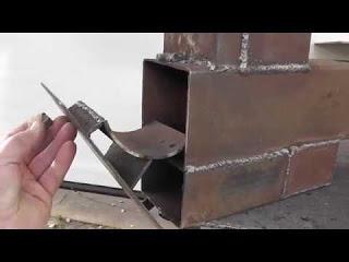 Ракетная печь для обогрева м…