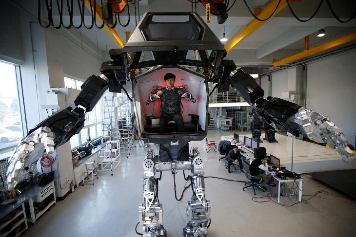 робот в южном фото