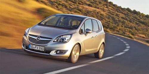 Новое поколение Opel Meriva представлено в Брюсселе
