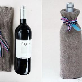 как упаковать вино в подарок