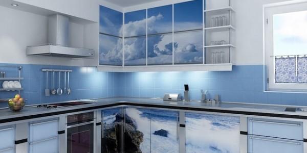 голубые кухни-7