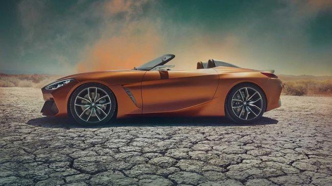 Официальный дебют BMW Concept Z4