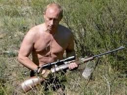 Всюду Путин - всемогущ и вездесущ