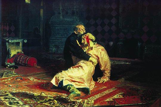 """Картина """"Иван Грозный убивает сына"""", Илья Репин"""