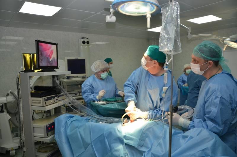 Минобороны получило первую гибридную операционную
