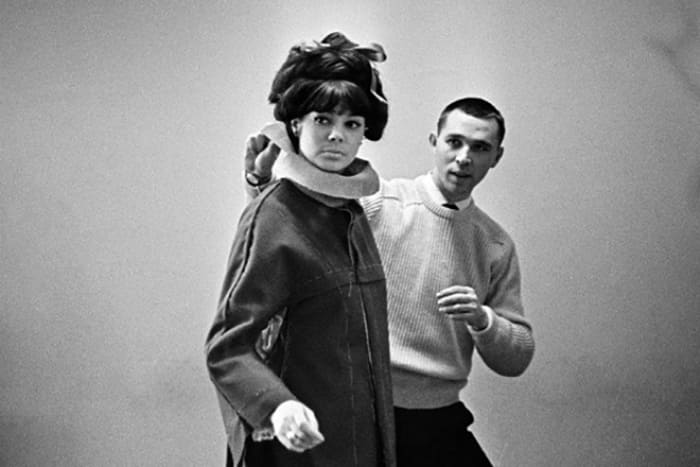 Одна из самых известных советских манекенщиц Регина Збарская и Вячеслав Зайцев   Фото: 24smi.org