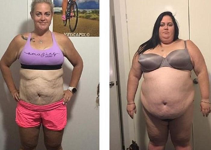 Полтора года назад она весила 184 килограмма. Сегодня молодую спортсменку не узнать!
