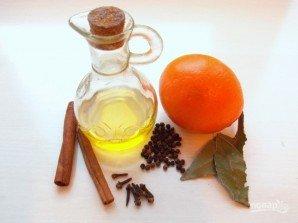 Пряное апельсиновое масло - фото шаг 1