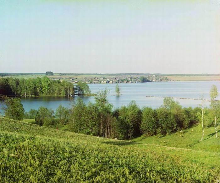 Стержское озеро в селе Первинка.