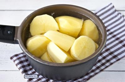 Картофельное пюре с луком