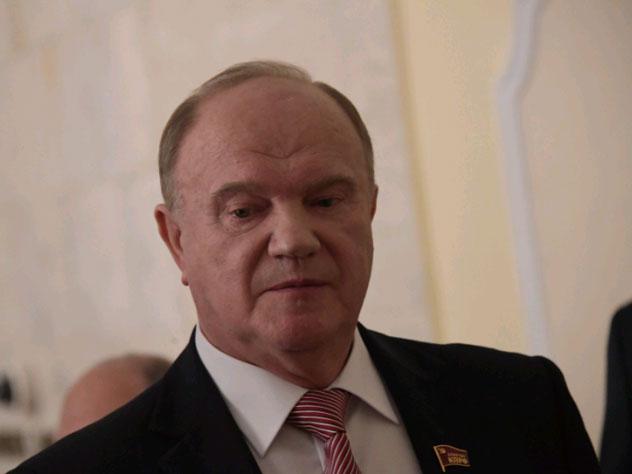 Зюганов подключился к президентской гонке