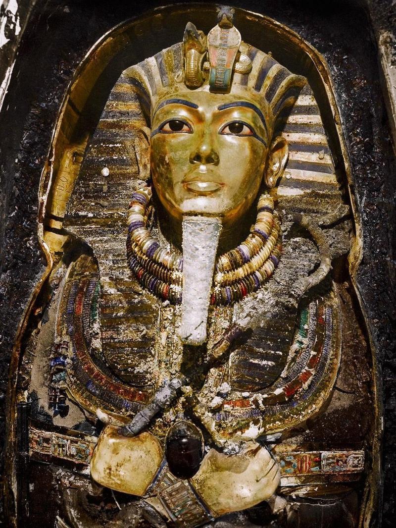 Отреставрированные снимки открытия гробницы Тутанхамона
