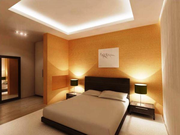 освещение в спальне без люстры фото 31