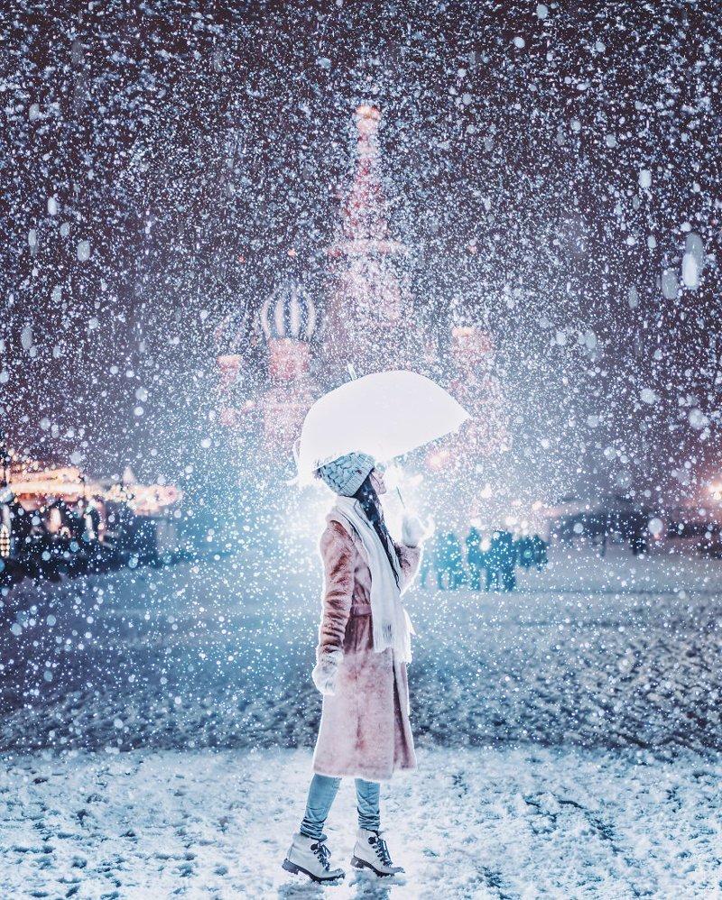 19. достопримечательность, зима, кристина макеева, москва, сказка, снег, фотография, фотомир