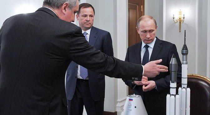 Кремль приказал выбросить 700 млрд на Луну