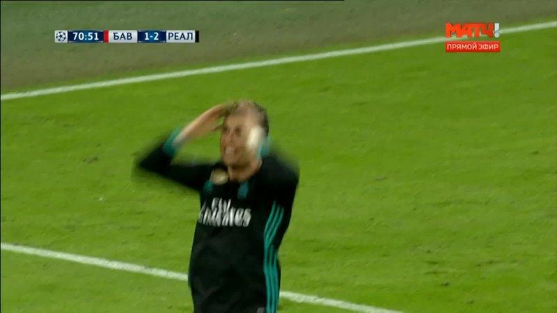 Бавария – Реал. Роналду подыграл себе рукой и забил