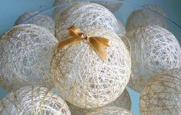 Праздничные шары-паутинки из…