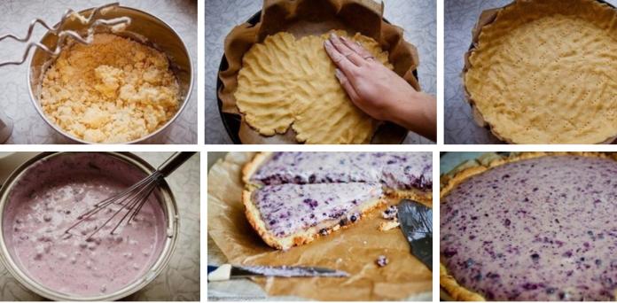 Черничный пирог с творогом: Чудо-рецепт для любимой семьи