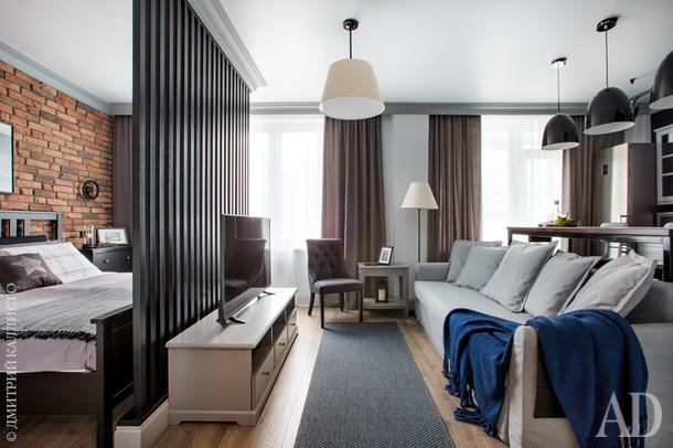 Квартира-студия в Екатеринбурге, 46 м²