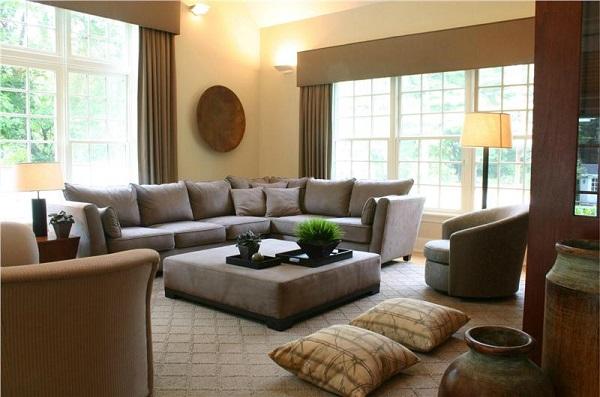 Идеи вашего дома: Идеи создания шикарного интерьера в коричневых тонах. Часть 1 Загородный дом