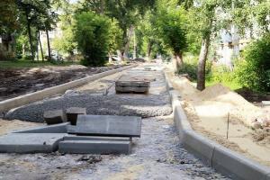 В Курске еще не приступили к благоустройству 10 общественных территорий