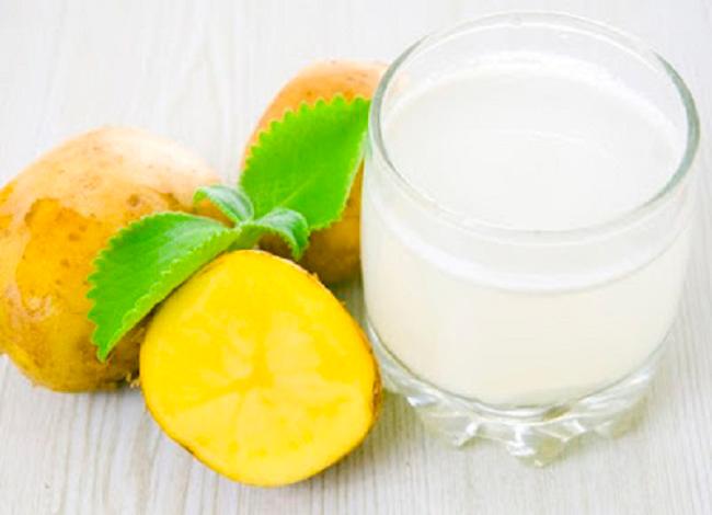Картофельный сок — естественный способ похудеть и стать моложе
