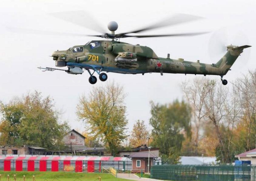 Модернизированный вариант ударного вертолета Ми-28Н совершил первый полет