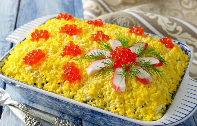рецепты легких домашних и вкусных салатов