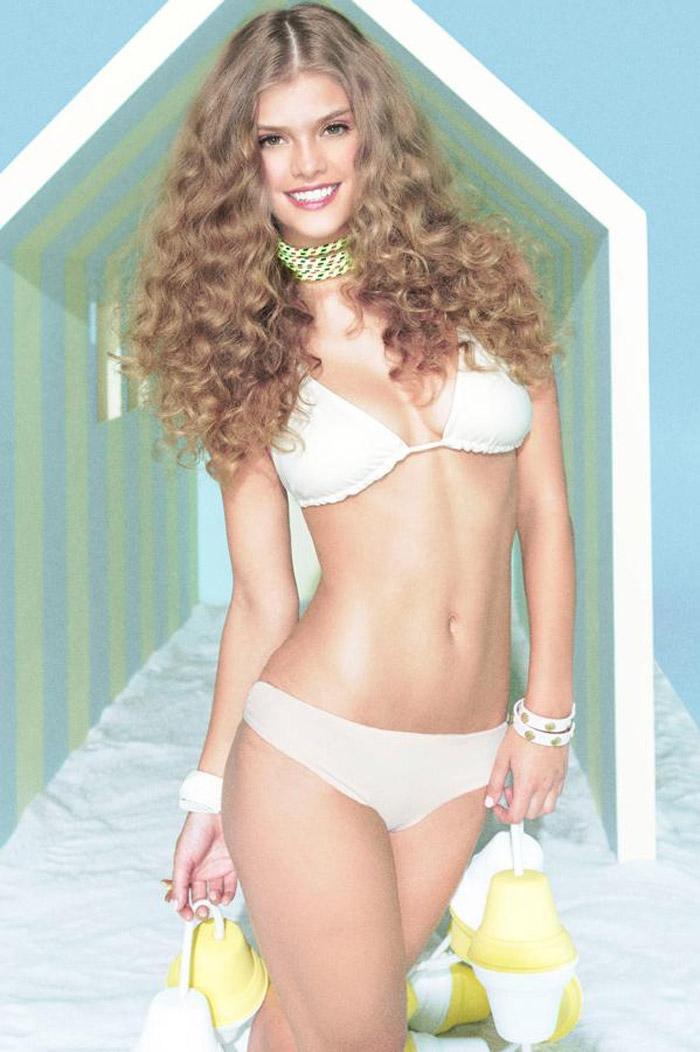 Нина Агдал  в фотосессии для рекламы купальников Maaji (2013)
