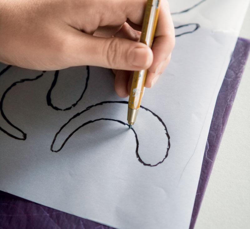 Рисунки на кафельной плитке своими руками 94