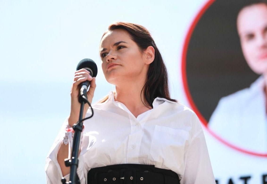 Тихановская заявила освоей победе навыборах вБелоруссии