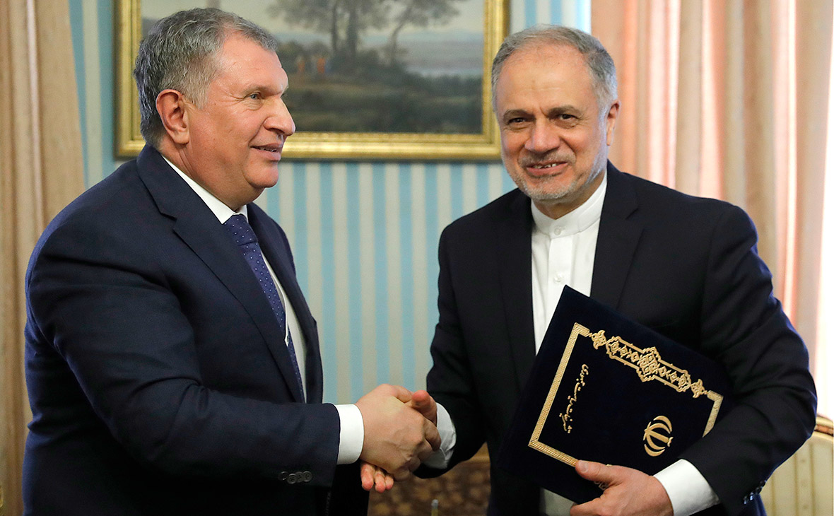 «Роснефть» и Иран договорились о проектах с инвестициями в $30 млрд.