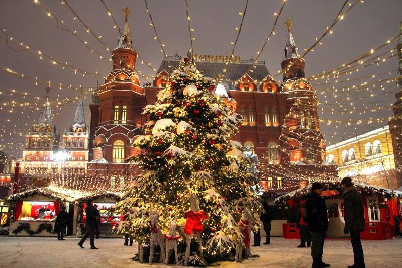 8 млн человек посетили фестиваль «Путешествие в Рождество»