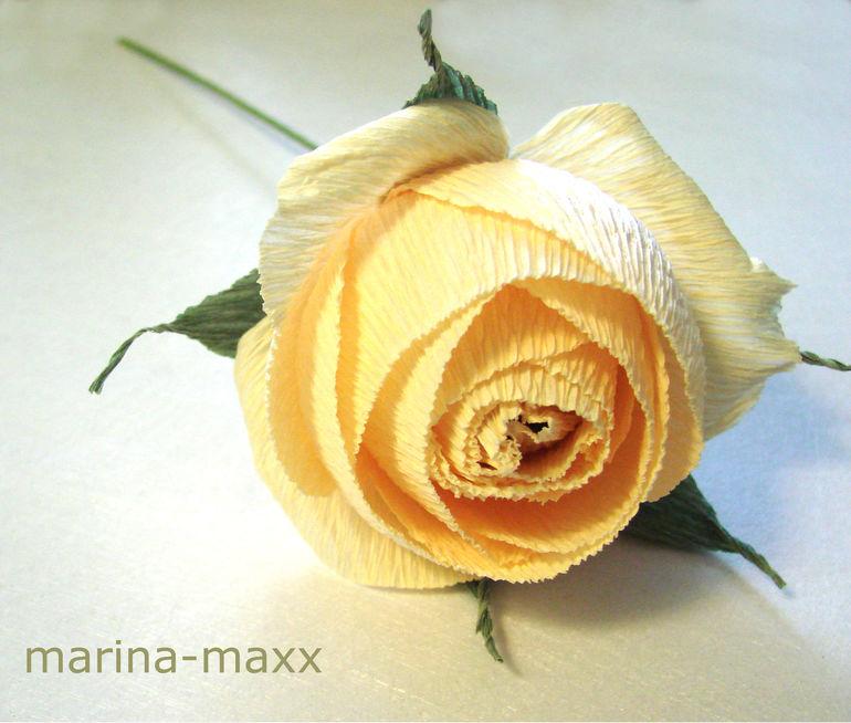 Мастер класс роза из бумаги и конфет своими руками