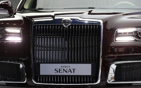 Автомобили Aurus будут выпускать на Ближнем Востоке